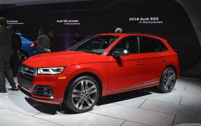 Audi SQ5 mostrado na edição do ano passado do Salão de Detroit (EUA), que está com cada vez menos apelo