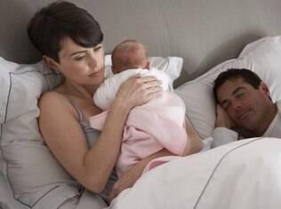 A chegada do bebê é um dos motivos para os casados procurarem a terapia