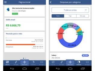 Disponível para iOS e Android, ZeroPaper é gerenciador financeiro gratuito para microempresas