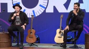 Israel e Rodolffo contam que já ficaram um ano sem se falar