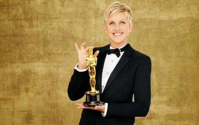 Ellen DeGeneres vai comandar o Oscar pela segunda vez