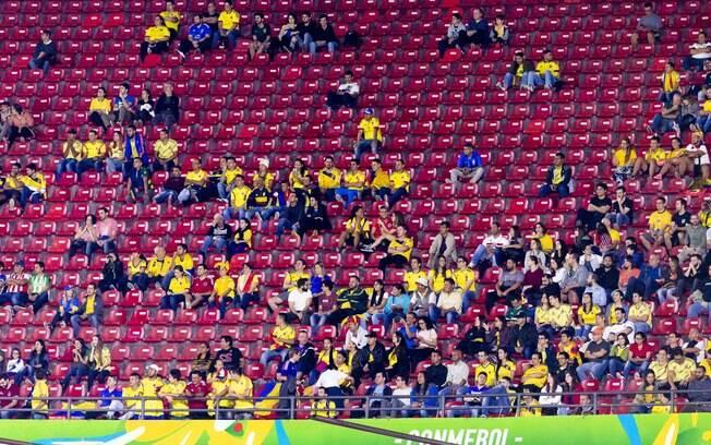 Os públicos da Copa América têm sido menores do que o esperado.