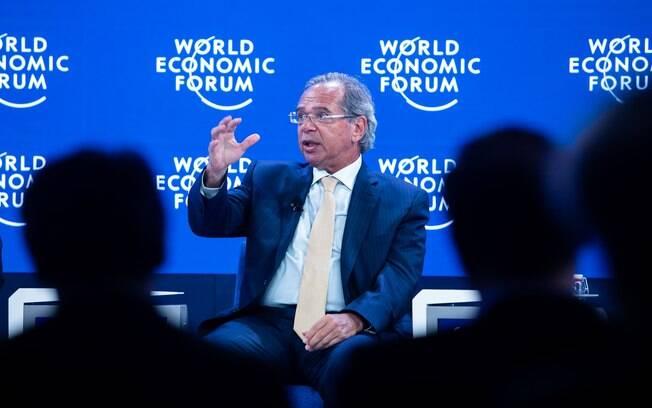 Ministro Paulo Guedes no Fórum Econômico Mundial