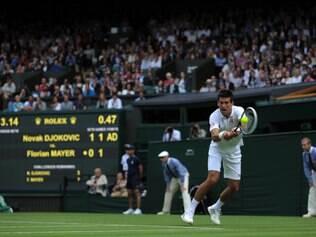 Número 1 do mundo estreou com vitória no Grand Slam inglês