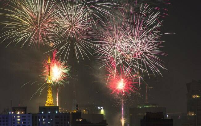 Em São Paulo, a festa para comemorar o Ano Novo será na Avenida Paulista, uma das mais famosas da cidade
