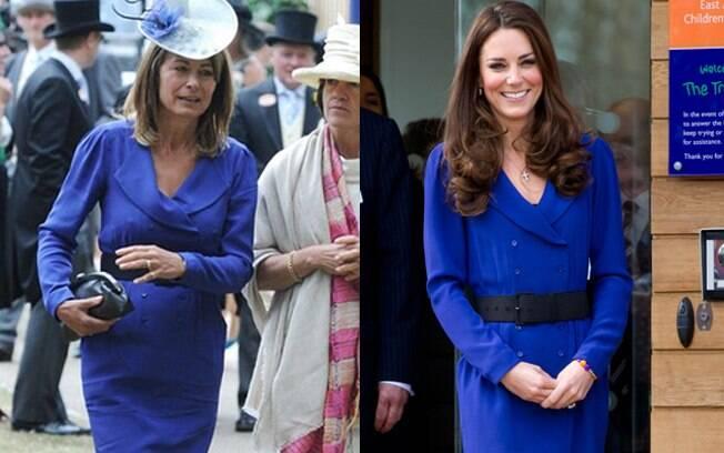 Kate Middleton pegou emprestado o vestido da mãe para o primeiro discurso real