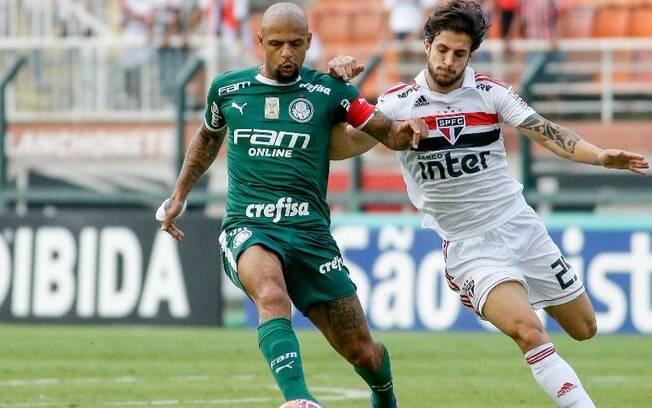 Palmeiras x São Paulo é um dos destaque da agenda do futebol deste domingo