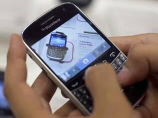Celulares BlackBerry estão fora dos planos da Samsung