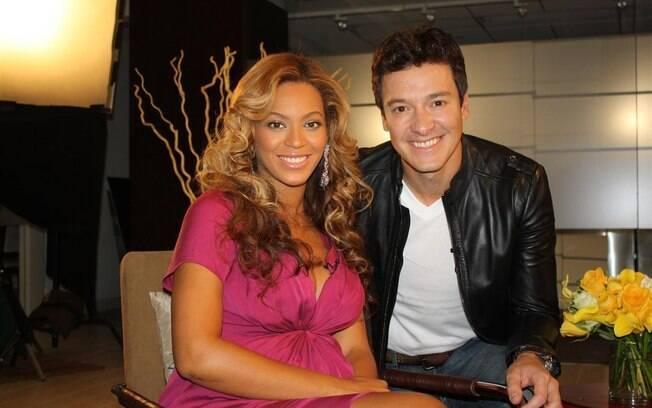 Rodrigo Faro entrvista Beyoncé
