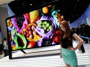 Ultra HD foi a palavra da moda durante a CES 2013