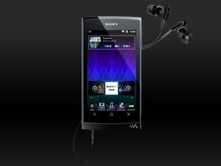 Sony Walkman Z é concorrente ao iPod Touch