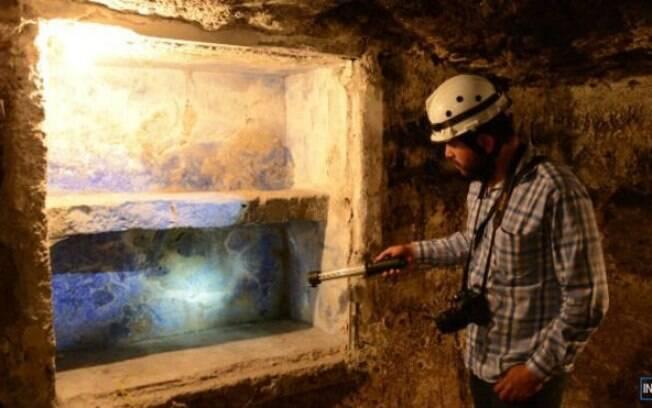 Aldeia antiga no México está encoberta por seis metros de lava