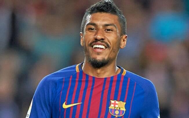Paulinho foi contratado pelo Barcelona em agosto de 2017