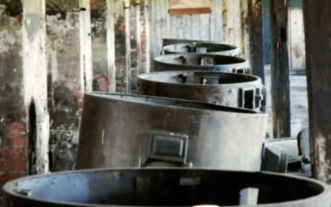 Cozinha de uma das alas do campo: ração diminuta para matar prisioneiros de fome. Foto: Auschwitz-Birkenau Memorial and Museum