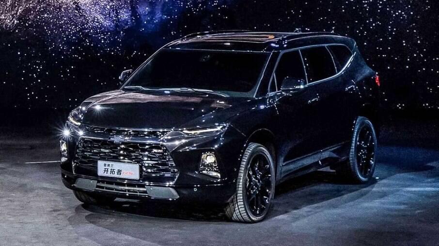 A versão chinesa do Chevrolet Blazer. Trata-se do maior SUV da General Motors na Ásia