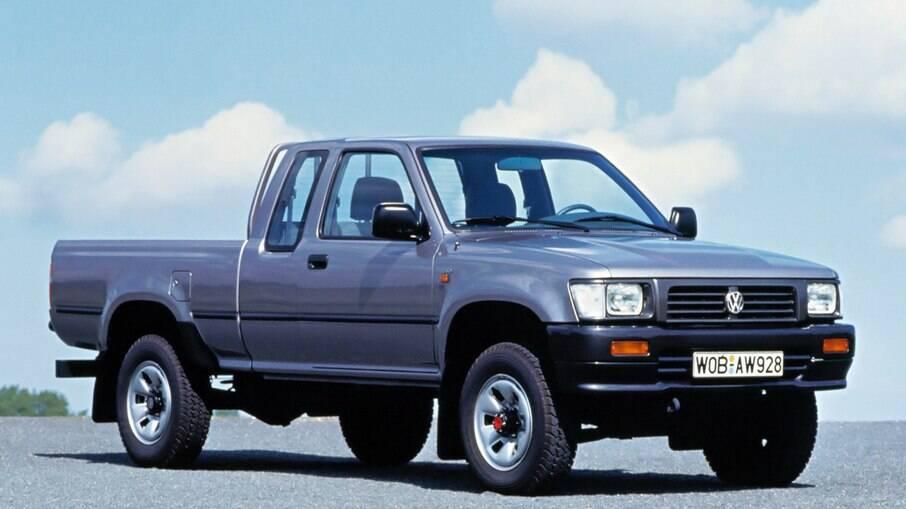 Volkswagen Taro: fruto de um acordo com a Toyota para a marca alemã ter uma picape média na Europa