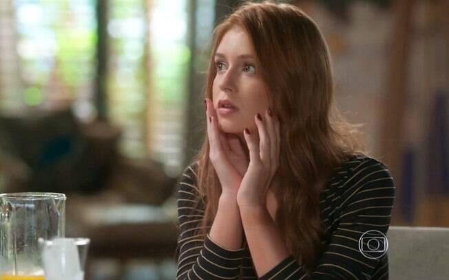Eliza  se surpreende com chegada de Stelinha, em 'Totalmente Demais'
