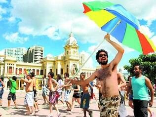 Entre os grupos presentes na reunião, estavam os organizadores do Praia da Estação, que ajudaram a elencar as três demandas que serão apresentadas à Prefeitura de Belo Horizonte