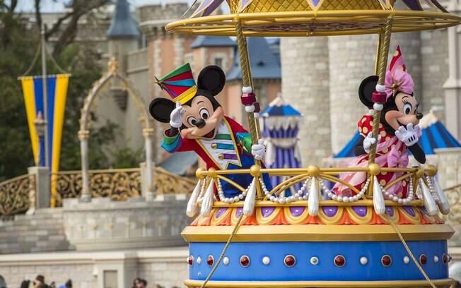 Festival of Fantasy está entre as atrações da Disney; conhece cada parque e as principais atividades