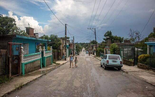 Rua Villalobo, em San Miguel del Padrón