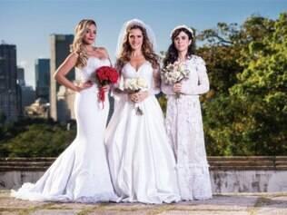 """Suzana Pires, Ingrid Guimarães e Tatá Werneck fazem parte do elenco de """"Loucas pra Casar"""""""