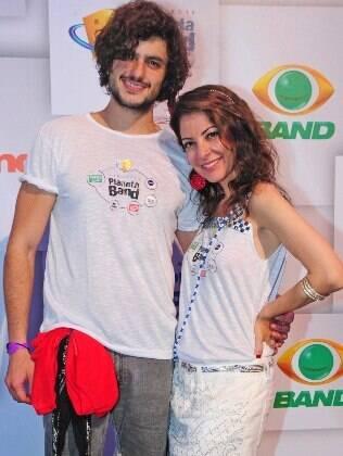 Mohamad e Ana Paula Padrão