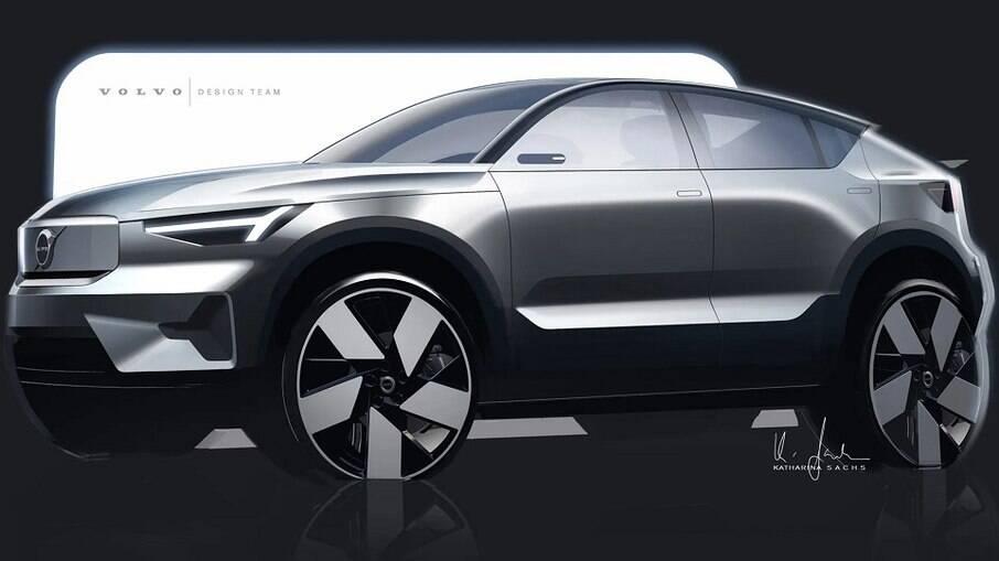 Novo crossover elétrico de entrada da Volvo  já está a caminho e vai ser lançado dentro de dois anos