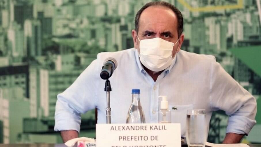 Prefeito de Belo Horizonte Alexandre Kalil