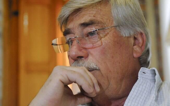 Carlos Soria, governador de Rio Negro, em foto tirada no dia 16 de dezembro de 2011