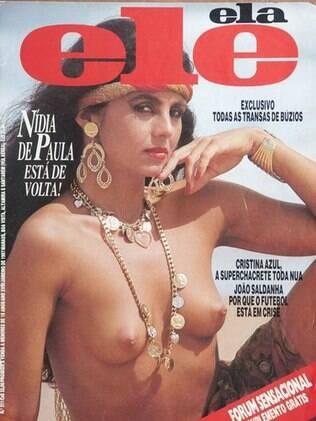 Capa da extinta Ele Ela: sensualidade nos anos 70