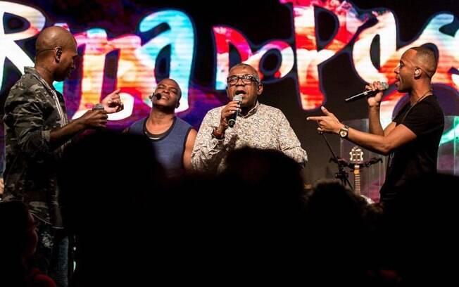 Música da Turma do Pagode liderou o ranking do TVZ em setembro no Multishow