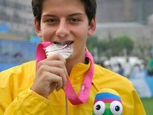 Brasileiro terminou com a prata em competição disputada em Lausanne, na Suíça