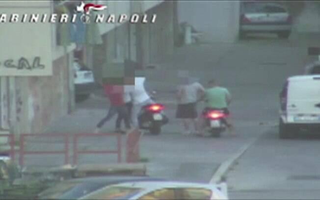 Polícia filma choques entre clãs mafiosos na Itália