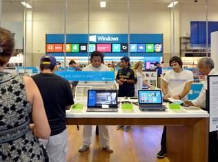 Espaços do Windows em lojas Best Buy dos EUA: estratégia da Microsoft para popularizar o sistema