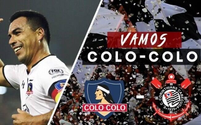 Perfis da equipe do Colo-Colo  nas redes sociais cometeram gafe e confundiram o símbolo do Corinthians