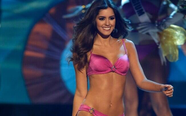 Miss Colômbia. Foto: AP