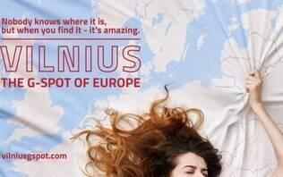 """""""Ponto G"""" da Europa? Capital da Lituânia tem campanha de turismo polêmica"""