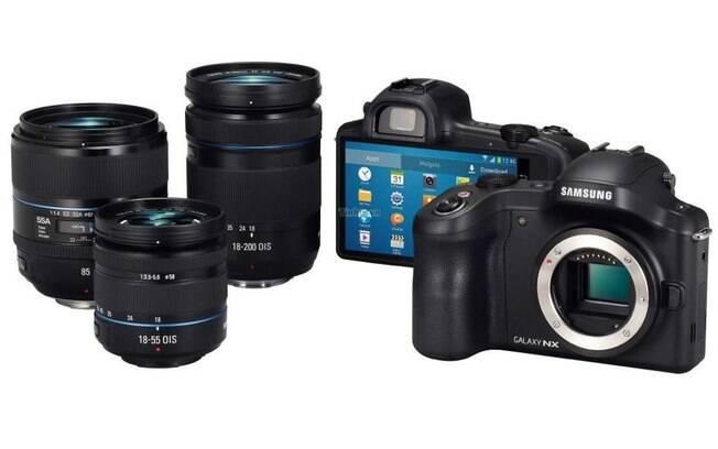 Galaxy NX é nova câmera com Android da Samsung
