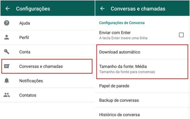 Usuário pode personalizar o papel de parede e o tamanho da fonte diretamente no WhatsApp