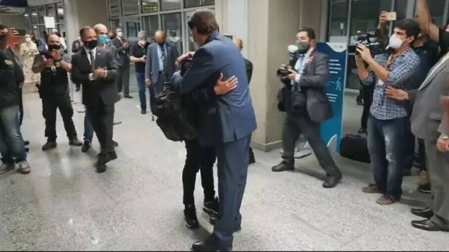 Robson e Bolsonaro
