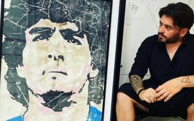 Filho de Maradona não compareceu ao velório do pai por conta da Covid-19