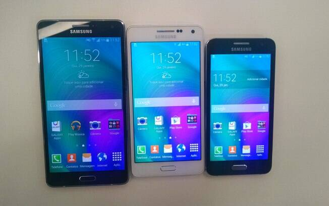 """Samsung lança aparelhos da série Galaxy A e provoca: """"É o fim do pau de selfie"""""""