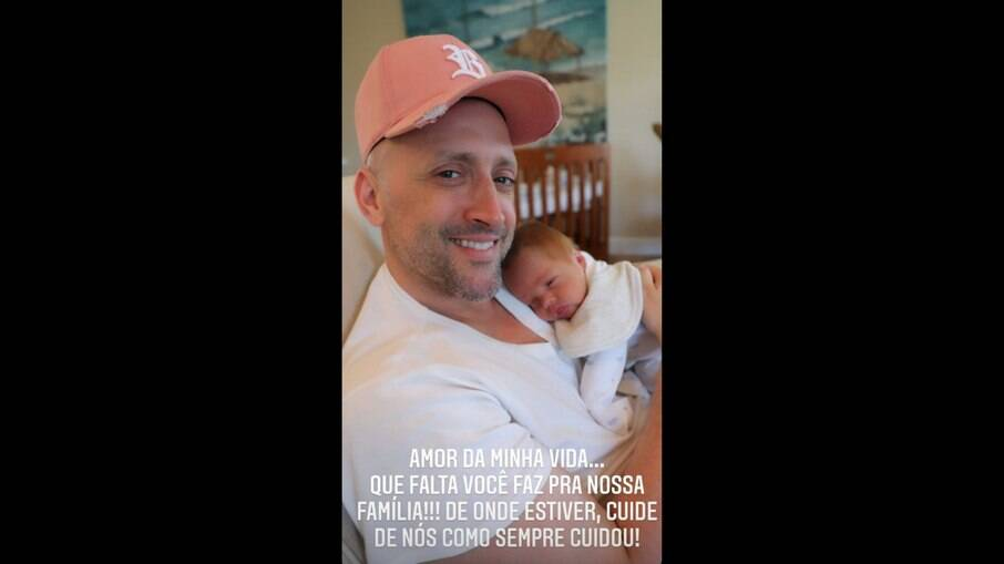 Paulo Gustavo e filho