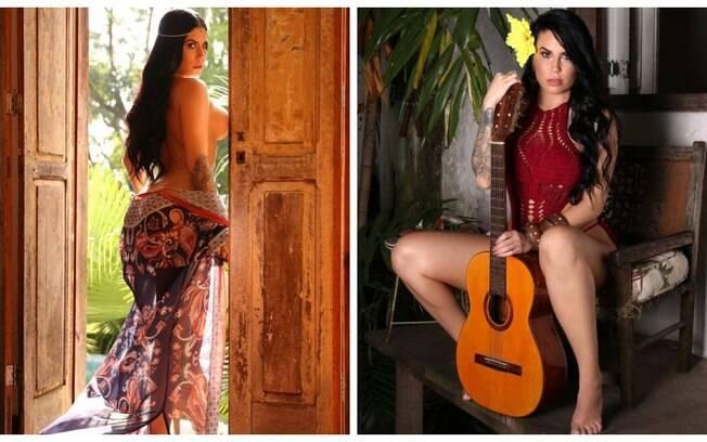 Jessica Amaral em ensaio sensual para o Diamond Brazil