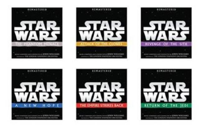 Walt Disney Records está pronta para lançar as trilhas sonoras dos seis primeiros filmes da saga