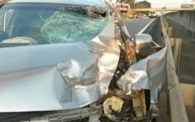 Motociclista morre após seguir na contramão da Campinas-Monte Mor e bater em carro