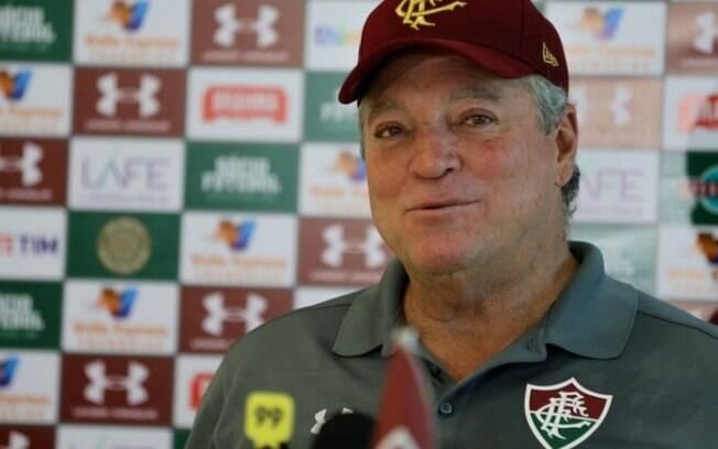 Abel Braga em sua última passagem pelo Fluminense