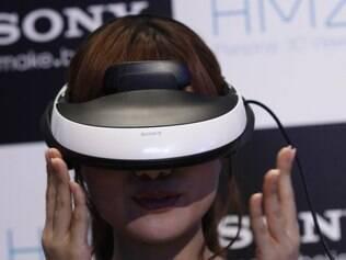 Acessório da Sony promete 3D em qualquer lugar
