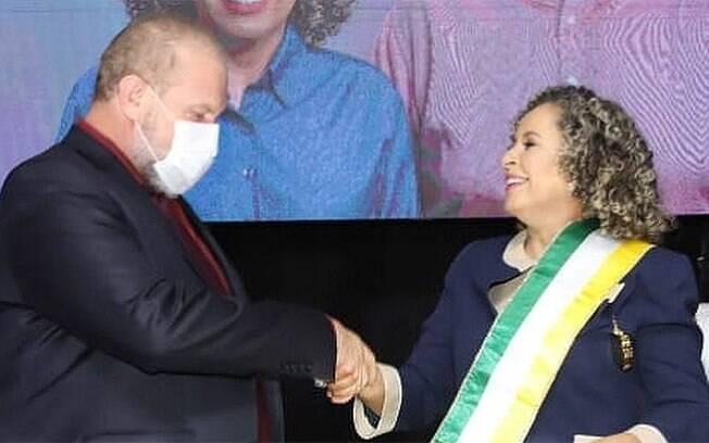 Fala do governador Mauro Carlesse, do Tocantins, foi feito na frente de 800 pessoas