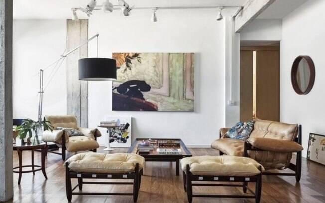 Peças de design assinado no apartamento de Fernanda Lima no Rio de Janeiro